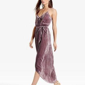 NWOT Lucky Brand Crushed Velvet Dress